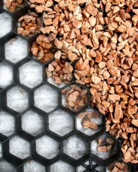 Split platen zwart met anti-worteldoek